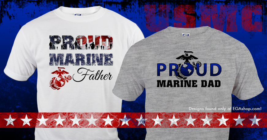 Marine Dad T-Shirts
